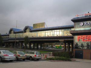 Brugrestaurant bij Schiphol, waar vermeende hasjdieven werden uitgeknepen.