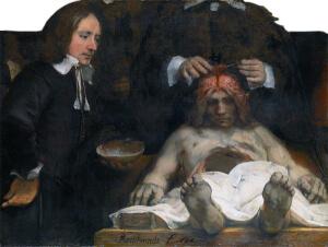 Anatomische les van Dr. Deijman (Rembrandt).