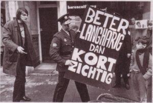 Langharige Muller versus kortzichtige koddebeier. (Foto: collectie Peter J. Muller)