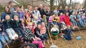 Schoolplein Zeswielen wordt groen. Foto: gemeente Alkmaar