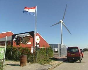 Het clubhuis van de Hells Angels in Herlingen. Foto: NTA