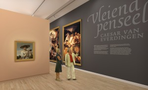 Van Everdingen in Stedelijk: prijswinnaar. Foto: Stedelijk
