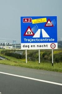 Het 'fatale'bord. Foto: RTV Utrecht.