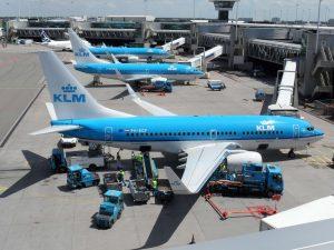 Coke met k van KLM. Foto: commons.wikimedia.org