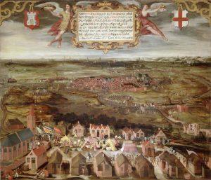 Alkmaar belegerd in 1573.