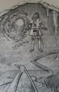 Illustratie uit De Avonturen van Tom Bombadil.
