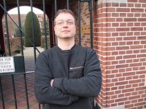 Pieter Bliek protesteert tegen de ombudsman.