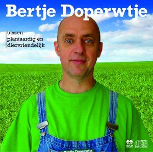 De hoes van de cd, die een nieuwe Bertje toont.